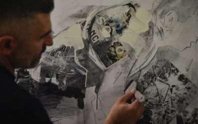 In arte Soro pedala al MUSE di Trento